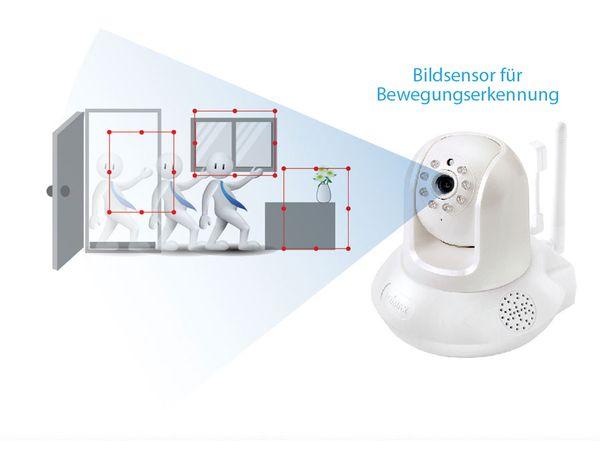 HD-Netzwerk-Farbkamera EDIMAX IC-7113W, 720p, WLAN, Pan/Tilt - Produktbild 7