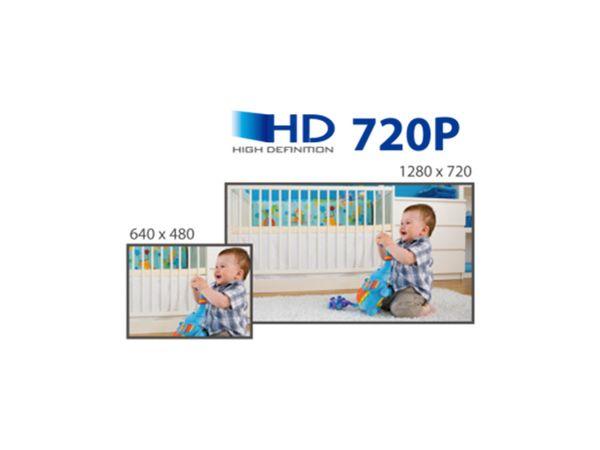 HD-Netzwerk-Farbkamera EDIMAX IC-7113W, 720p, WLAN, Pan/Tilt - Produktbild 13