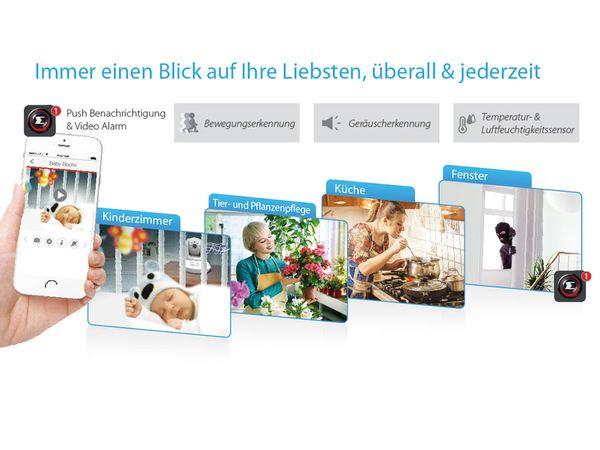 HD-Netzwerk-Farbkamera EDIMAX IC-7113W, 720p, WLAN, Pan/Tilt - Produktbild 15