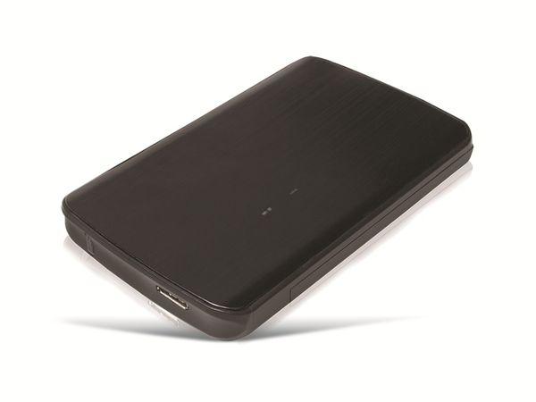 """6,35 cm (2,5"""") HDD-Gehäuse LOGILINK UA0244, USB3.1 zu SATA - Produktbild 1"""