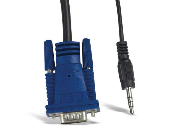 KVM Switch KVM CS-21UA, 2-port - Produktbild 7