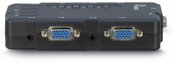 KVM Switch KVM-CS-41UA, 4-port - Produktbild 3