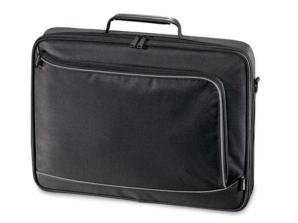 "Laptop-Tasche HAMA 101094 ""Sportsline Bordeaux"", 44 cm (17,3""), schwarz - Produktbild 1"