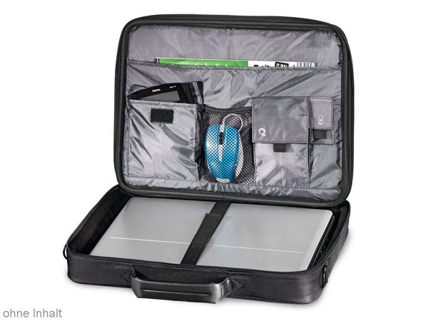 "Laptop-Tasche HAMA 101094 ""Sportsline Bordeaux"", 44 cm (17,3""), schwarz - Produktbild 2"