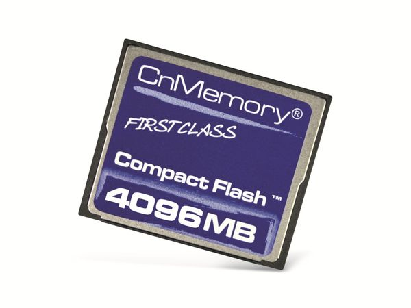 CF Card, 4 GB, CnMemory