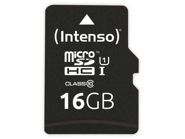 microSDHC Card INTENSO 3433470, 16 GB
