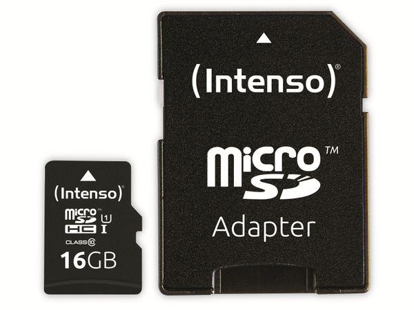 microSDHC Card INTENSO 3433470, 16 GB - Produktbild 3