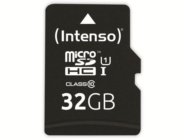 microSDHC Card INTENSO 3433480, 32 GB