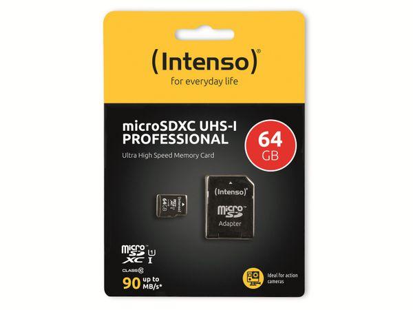 microSDXC Card INTENSO 3433490, 64 GB - Produktbild 2
