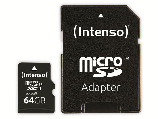 microSDXC Card INTENSO 3433490, 64 GB - Produktbild 3