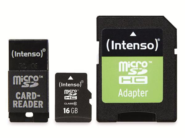 microSDHC Card INTENSO 3413760, 16 GB