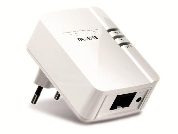 Powerline-Adapter TRENDNET TPL-406E - Produktbild 1