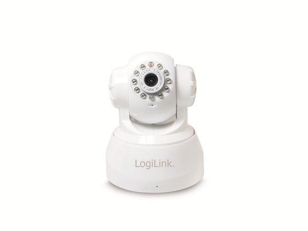 IP-Kamera LOGILINK WC0030W, Pan/Tilt, WLAN, weiß - Produktbild 3