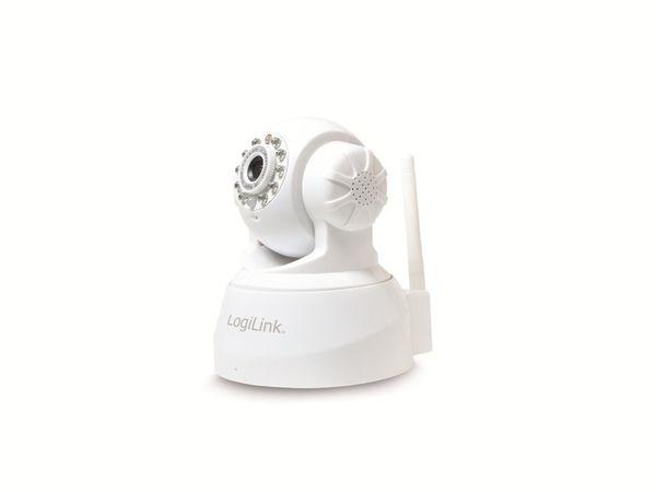 IP-Kamera LOGILINK WC0030W, Pan/Tilt, WLAN, weiß - Produktbild 5