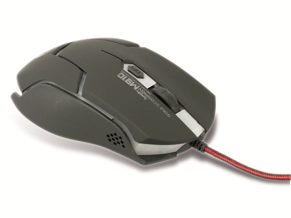 Gaming-Maus mit Farbwechsel LEDs RED4POWER R4-M011B