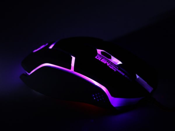 Gaming-Maus mit Farbwechsel LEDs RED4POWER R4-M011B - Produktbild 3
