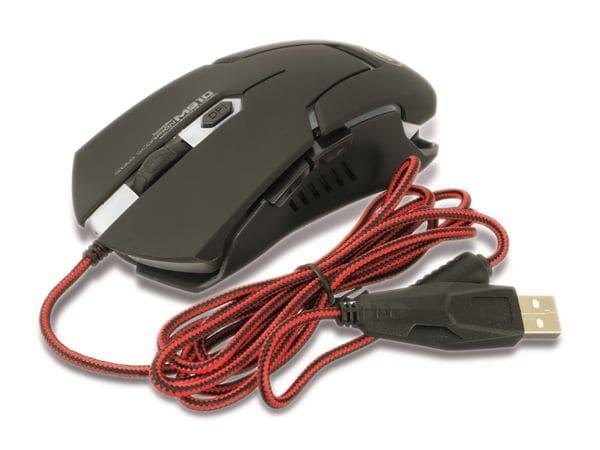 Gaming-Maus mit Farbwechsel LEDs RED4POWER R4-M011B - Produktbild 6