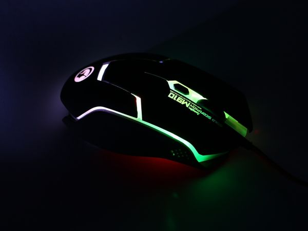 Gaming-Maus mit Farbwechsel LEDs RED4POWER R4-M011B - Produktbild 10