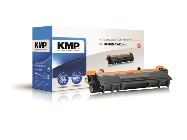 Toner KMP, kompatibel für Brother TN-230BK, schwarz