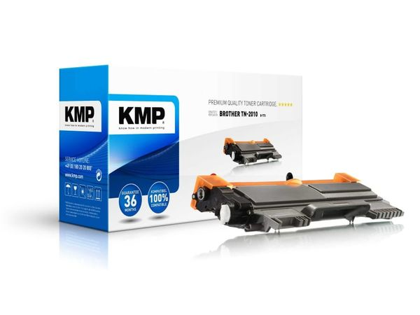 Toner KMP, kompatibel für Brother TN-2010, schwarz