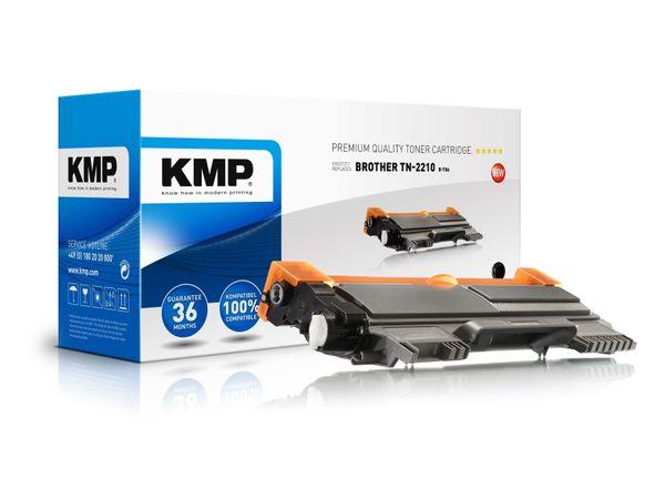 Toner KMP, kompatibel für Brother TN-2210, schwarz