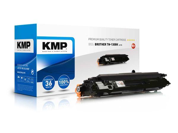 Toner KMP, kompatibel für Brother TN-130BK, schwarz