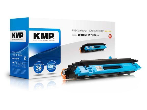 Toner KMP, kompatibel für Brother TN-130C, cyan