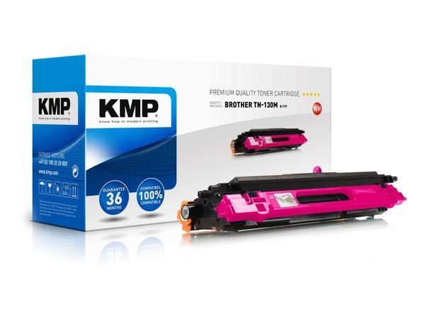 Toner KMP, kompatibel für Brother TN-130M, magenta