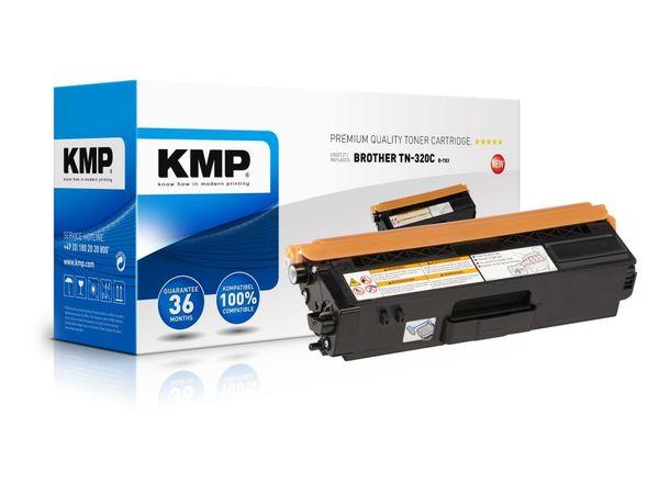 Toner KMP, kompatibel für Brother TN-320C, cyan