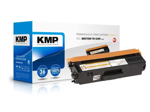 Toner KMP, kompatibel für Brother TN-320M, magenta