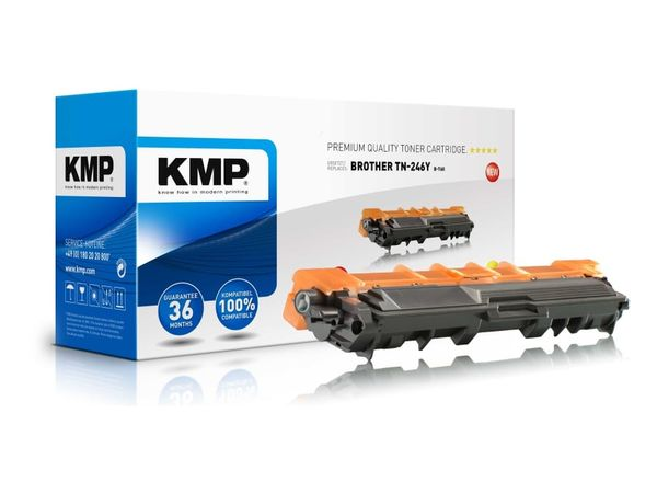 Toner KMP, kompatibel für Brother TN-246Y, gelb