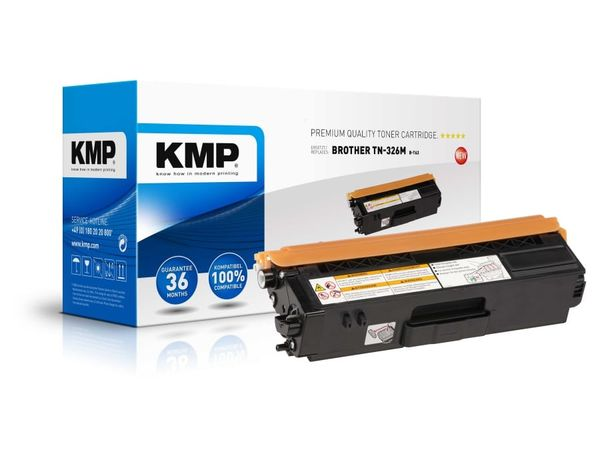 Toner KMP, kompatibel für Brother TN-326M, magenta