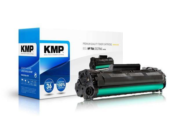 Toner KMP, kompatibel für HP 78A (CE278A), schwarz