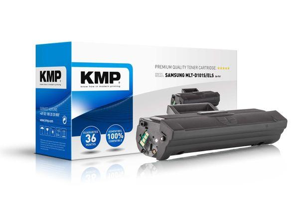 Toner KMP, kompatibel für Samsung MLT-D101S/ELS, schwarz