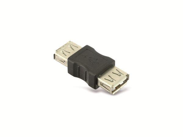 USB-Adapterstecker, schwarz