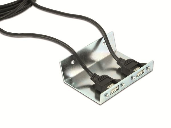 USB 2.0 Verlängerungskabel mit Halterung - Produktbild 3