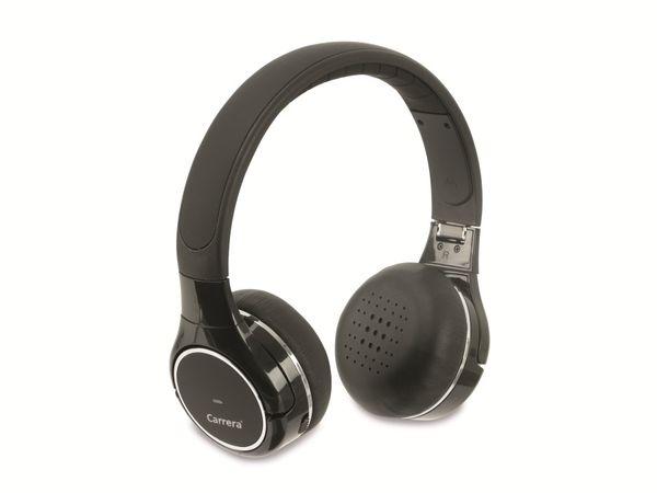 On-Ear Headset CARRERA, Falt-Design, schwarz - Produktbild 1