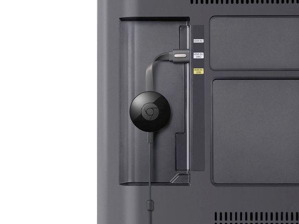 Streaming-Stick GOOGLE Chromecast 2, schwarz - Produktbild 4