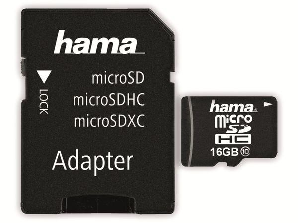 MicroSDHC Card HAMA 108088, 16 GB