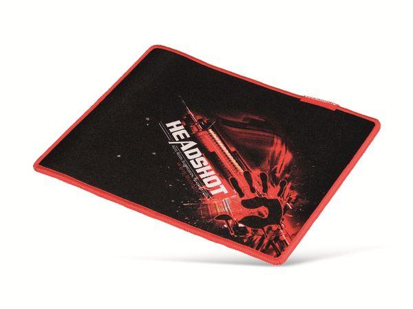 Gaming-Mauspad A4TECH BLOODY A4-B-071, 430x350 mm, schwarz/rot - Produktbild 1