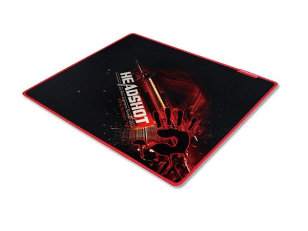 Gaming-Mauspad A4TECH BLOODY A4-B-070, 430x350 mm, schwarz/rot - Produktbild 1