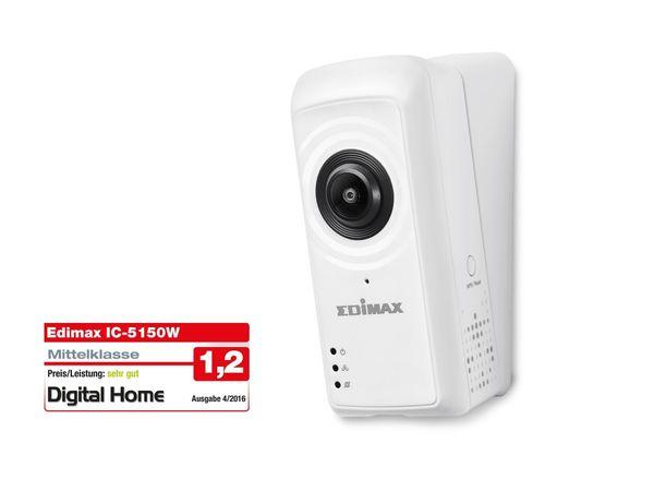 IP-Kamera EDIMAX IC-5150W, FullHD Fisheye, WLAN, Pan/Tilt - Produktbild 1