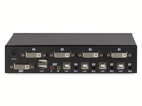 KVM Switch KVM-AS-41DA, 4-port - Produktbild 2