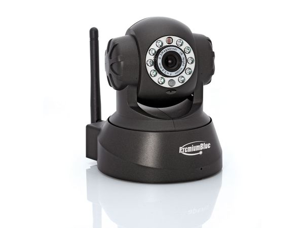 IP-Kamera PREMIUMBLUE PIPC-011, Pan/Tilt, defekt - Produktbild 1