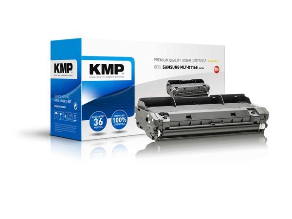 Toner KMP, kompatibel für Samsung MLT-D116S, schwarz