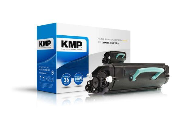 Toner KMP, kompatibel für Lexmark E260A11E, schwarz
