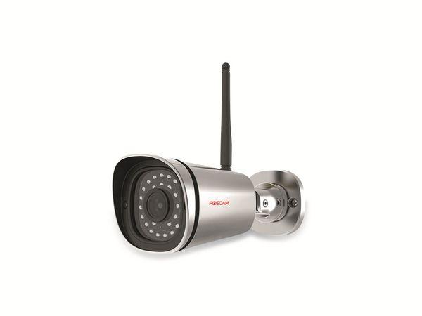 Outdoor IP-Kamera FOSCAM FI9900P, silber - Produktbild 1