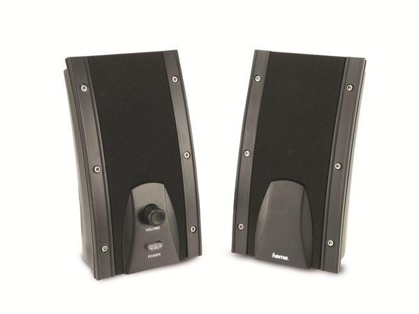 Computer-Lautsprecher HAMA Power Negra 52827 - Produktbild 1