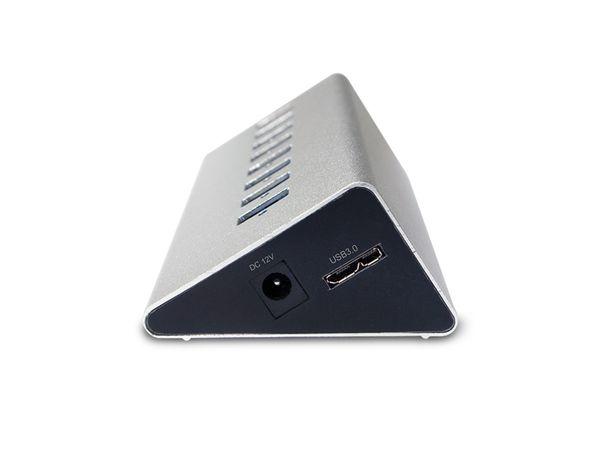 USB 3.0-Hub LOGILINK UA0228, 7-port, aktiv - Produktbild 2