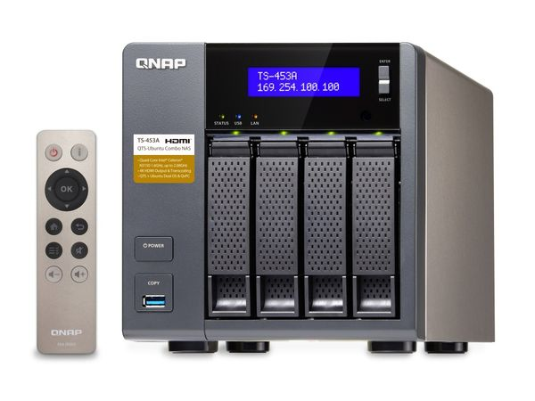 NAS-Festplattengehäuse QNAP TS-453A-8G, SATA, Gigabit LAN - Produktbild 1